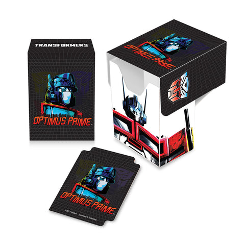 Transformers Deck Box - Optimus Prime