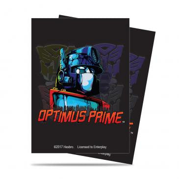 Transformers Card Sleeves - Optimus Prime
