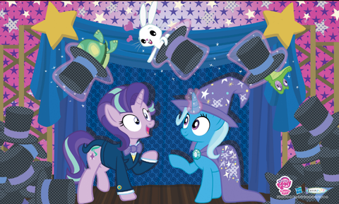 "MLP Poster - 3D ""Magic Show"" Trixie & Starlight"