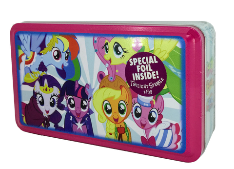 MLP Collector's Tin with Series 1 Twilight Sparkle Foil (#F39)