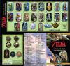 The Legend of Zelda Dog Tag Fun Packs