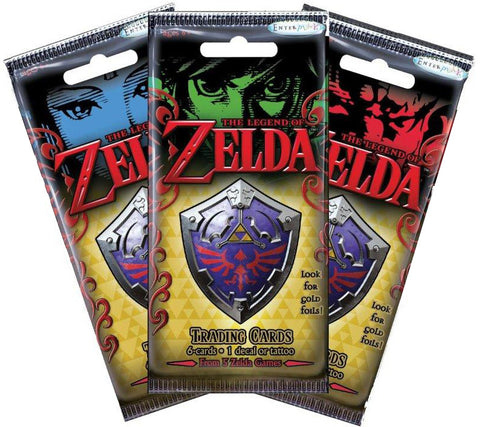 The Legend of Zelda Trading Card Fun Pack (3 Packs)