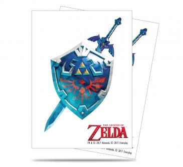 Zelda Card Sleeves - Sword & Shield