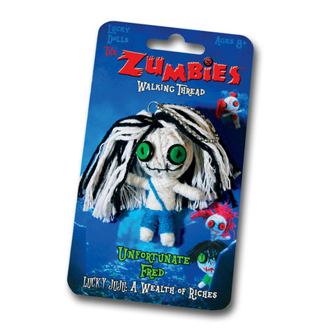 The Zumbies: Walking Thread Lucky Zomby Doll Complete Set