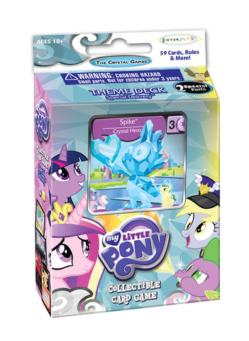 MLP CCG Crystal Games Special Delivery Theme Deck