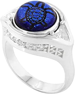 Crystal Filigree Ring, KR016
