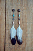 Eagle Dancer Feather Earrings