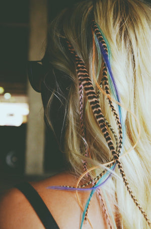 hair feathers indys