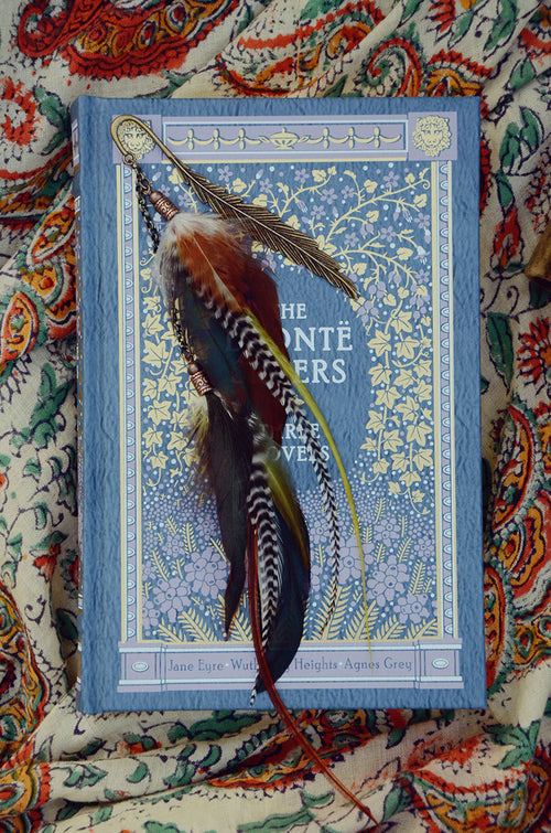 Universe Feather Bookmark