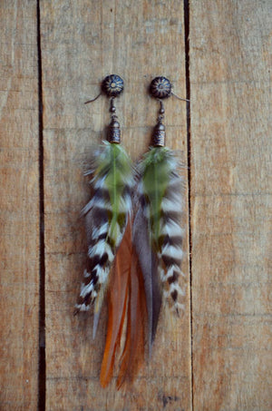 You're a Natural Feather Earrings