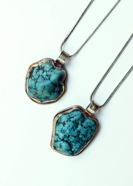 Desert Plains Turquoise Necklace