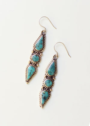 Drops of Paradise Turquoise Earrings