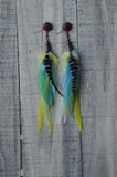 Electrify Me Feather Earrings