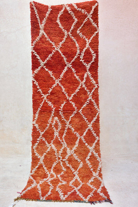 Magical Carpet Ride | Moroccan Boucherouite Rug