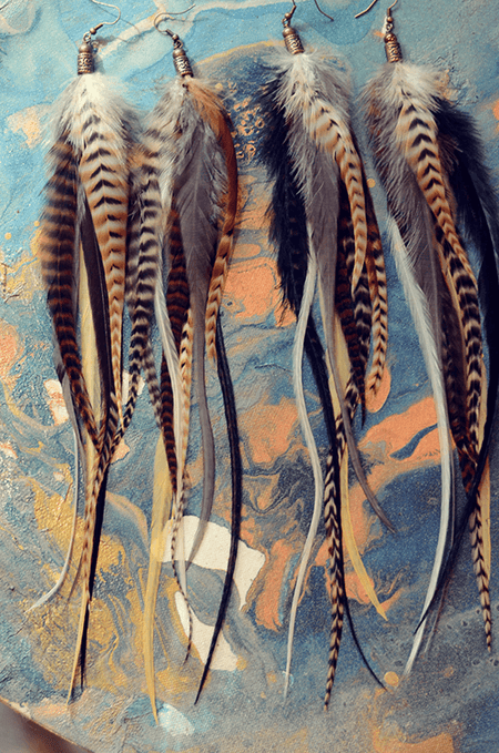 Feather Hair Extensions - Originals