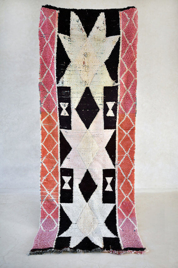 Star Light Star Bright | Moroccan Boucherouite Rug