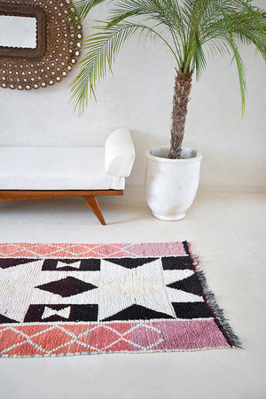 Till Stars Grew Out of the Air | Moroccan Rug