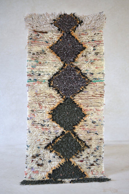 Change Was Among The Stars | Moroccan Boucherouite Rug
