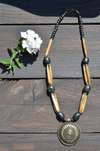 Wooden Amulet Necklace