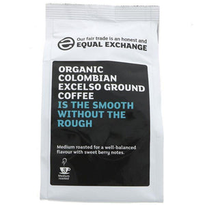 Coffee - Organic Colombian Excelso - Equal Exchange - 227g - Vegetropolis Organic Fruit and Veg Delivery Service