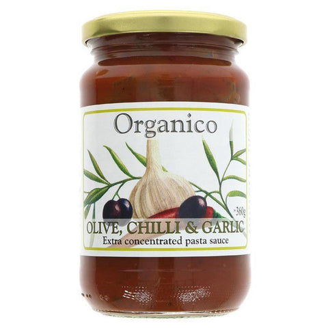Olive, Chilli & Garlic - Concentrated Pasta Sauce - 360g