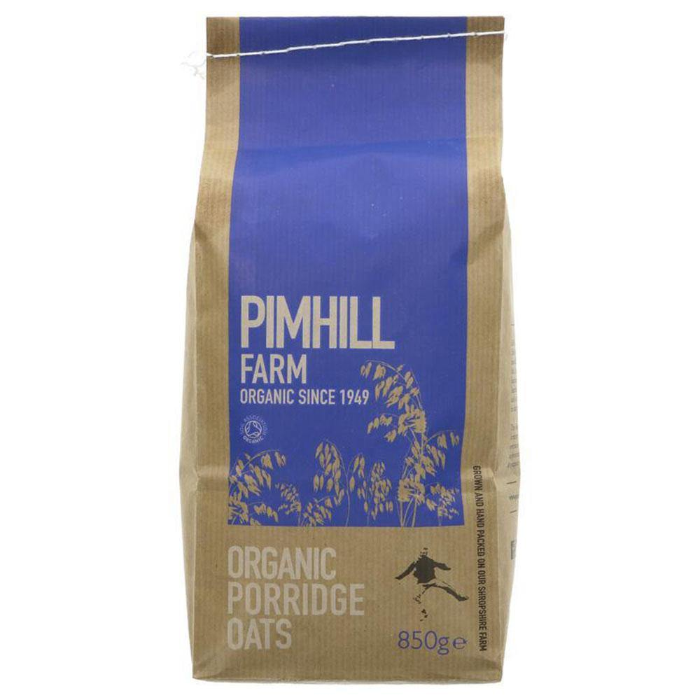 Porridge Oats by Pimhill - 850g - Vegetropolis Organic Fruit and Veg Delivery Service