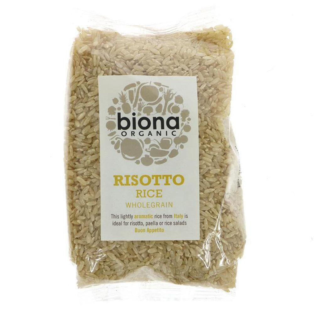 Rice,  Brown Risotto by Biona - 500g - Vegetropolis Organic Fruit and Veg Delivery Service