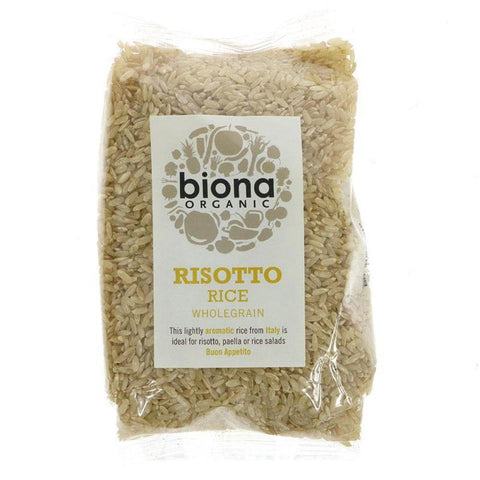 Rice,  Brown Risotto by Biona - 500g