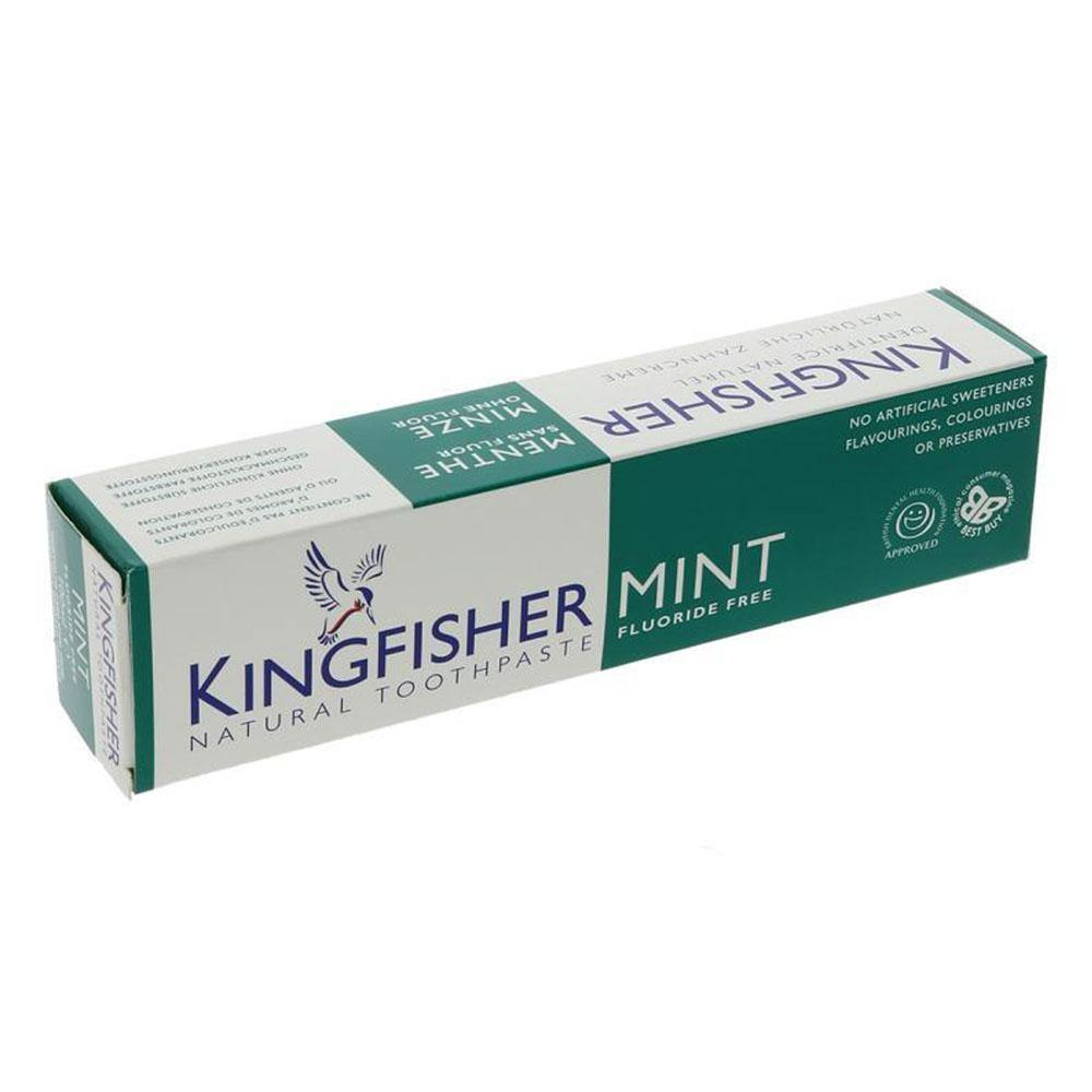 Toothpaste - Kingfisher Mint - Flouride Free - Vegetropolis Organic Fruit and Veg Delivery Service