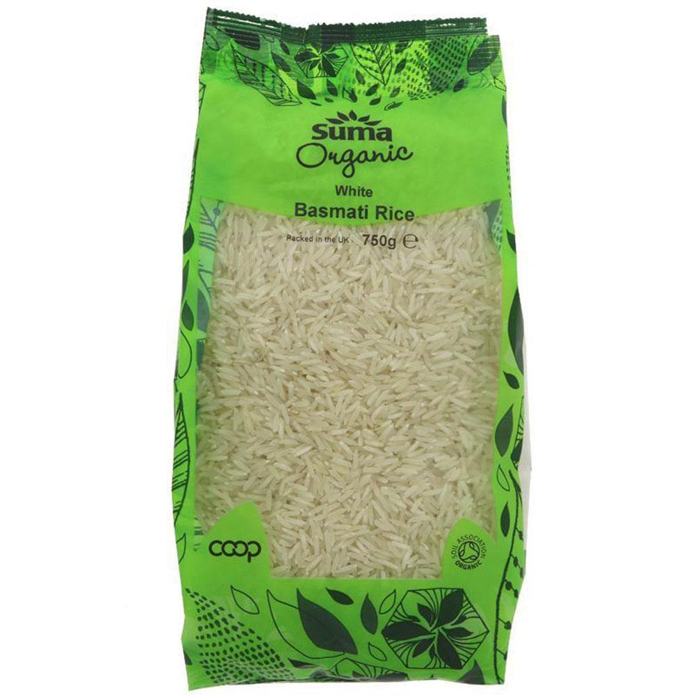 Rice - White Basmati - 750g - Vegetropolis Organic Fruit and Veg Delivery Service