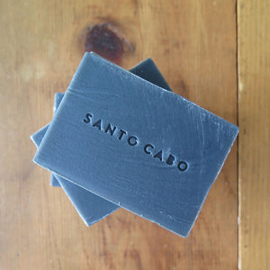 Carbon Soap Bars with Santo Cabo Stamp