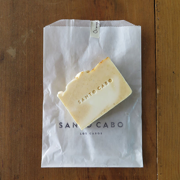 Orange Patchouli Bar Soap with Bag