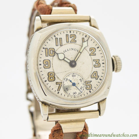 1928 Vintage Illinois Scepter Chrome Watch