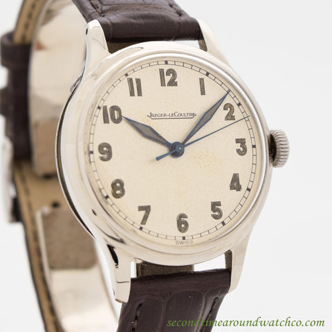 1940's Vintage Jaeger-Le Coultre Stainless Steel Watch