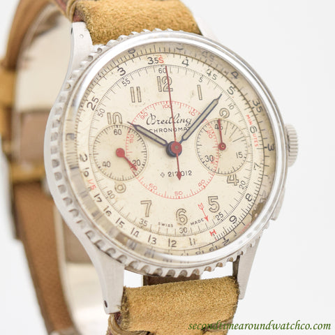 1946 Vintage Breitling Chronomat Stainless Steel Ref. 217021 Watch