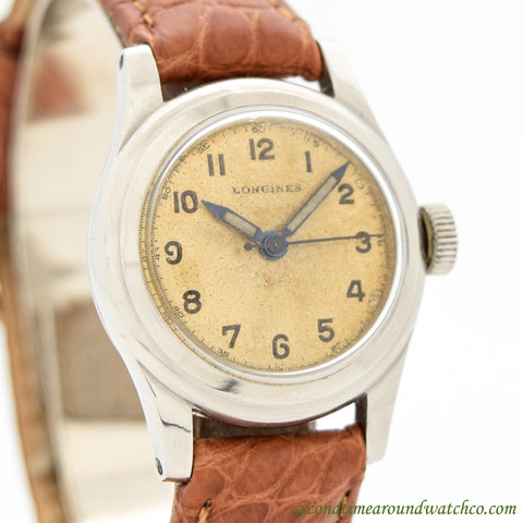 1948 Vintage Longines Ladies Stainless Steel Watch