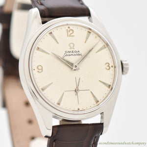 1948 Vintage Omega Seamaster-Ranchero Reference 2990-1 Stainless Steel Watch