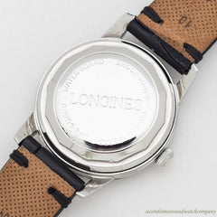 1957 Vintage Longines Automatic Ref. 9006 Stainless Steel Watch