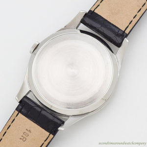 1953 Vintage Omega Ref. 2705-2 Stainless Steel Watch