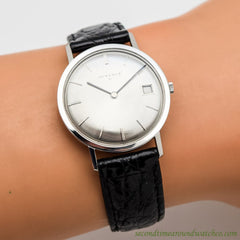 1970's Vintage Juvenia Slimatic Stainless Steel Watch