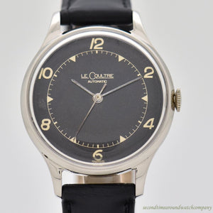 1950's-60's Vintage Jaeger LeCoultre Stainless Steel Watch
