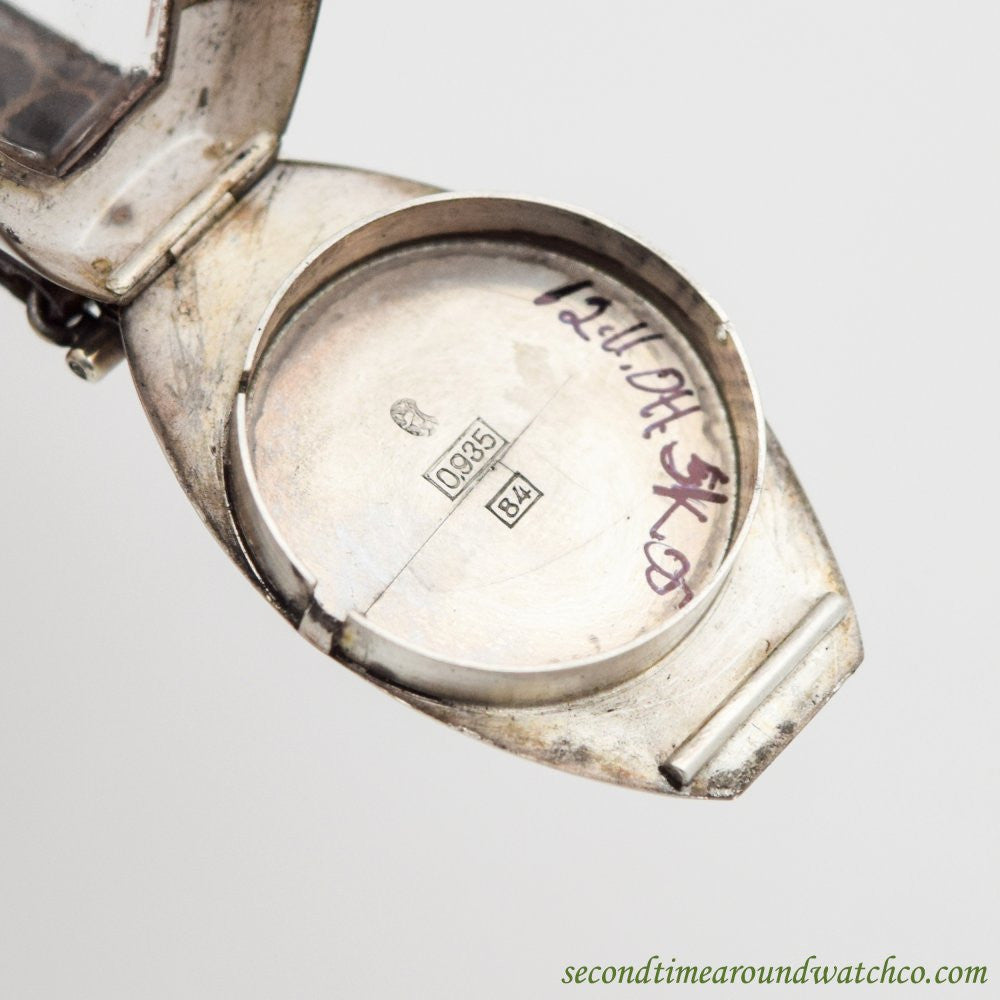 1920's Vintage Vulcain Sterling Silver Watch