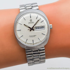 1970 Vintage Omega Seamaster Cosmic Ref. 166.035 Stainless Steel Watch