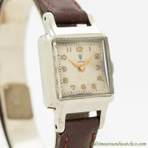 1960's Vinage Tudor By Rolex Ladies Stainless Steel Watch