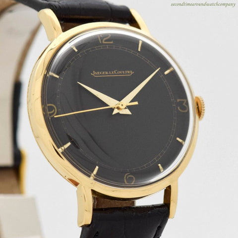 1940's Vintage Jaeger LeCoultre 18k Yellow Gold Watch