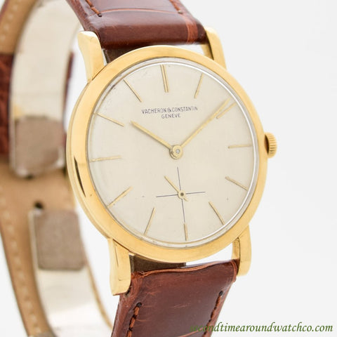 1954 Vintage Vacheron Constantin Ref. 4667 18k Yellow Gold Watch