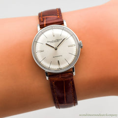 1960 Vintage International Watch Co. Automatic Stainless Steel Watch
