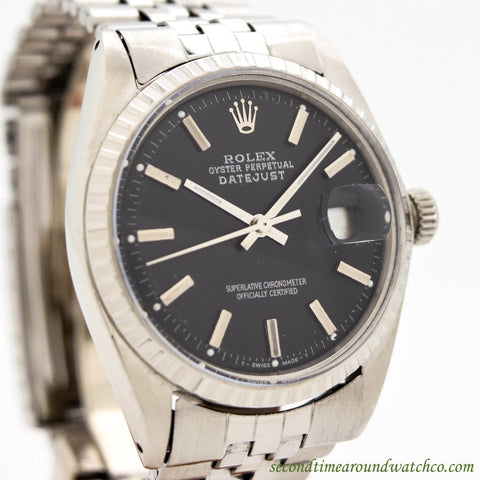 1968 Vintage Rolex Datejust Ref. 1603 Stainless Steel Watch