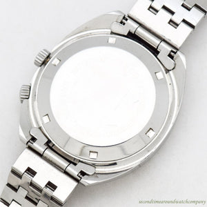 1970's era Exactus Ref. 6968 Stainless Steel Watch
