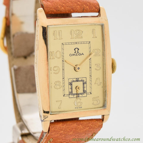 1926 Vintage Omega 14k Yellow Gold Watch